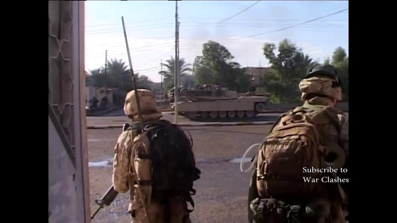 U.S. MARINES IN IRAQ. REAL COMBAT - HEAVY CLASHES WAR IN IRAQ
