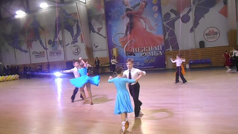 Снежная румба 2018 массовый 4 танца