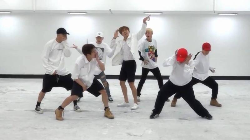 BTS FIRE mirrored Dance Practice