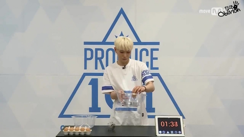 [РУС.САБ] Produce 101 – Время Меренги @ Jo Gyu Min