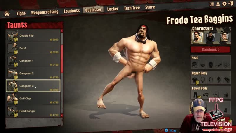 Disturbing character creation in Loadout!