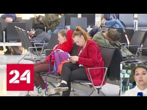 Аэропорт Шереметьево постепенно возвращается в штатный режим работы Россия 24