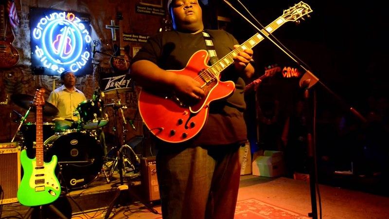 Christone Kingfish Ingram at Ground Zero Blues Club - Juke Joint Festival 2015