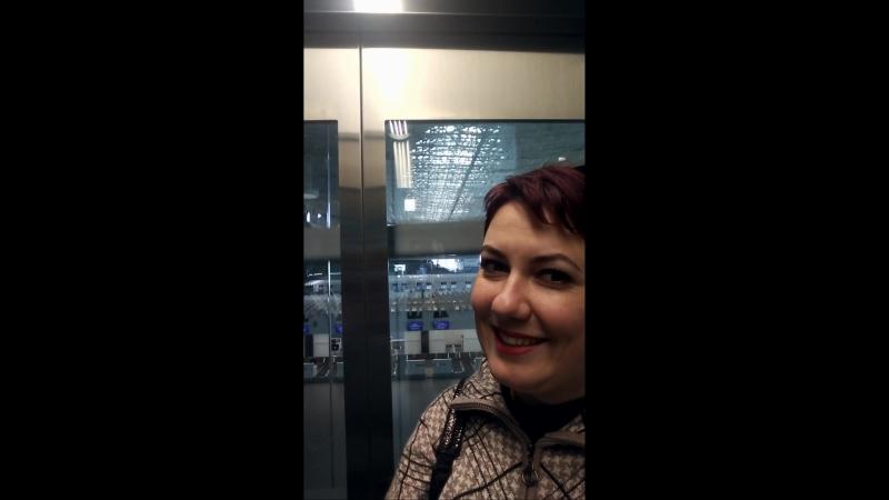 Лифт в новом аэропорту Симферополя!