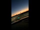 Sunset California Dreamin