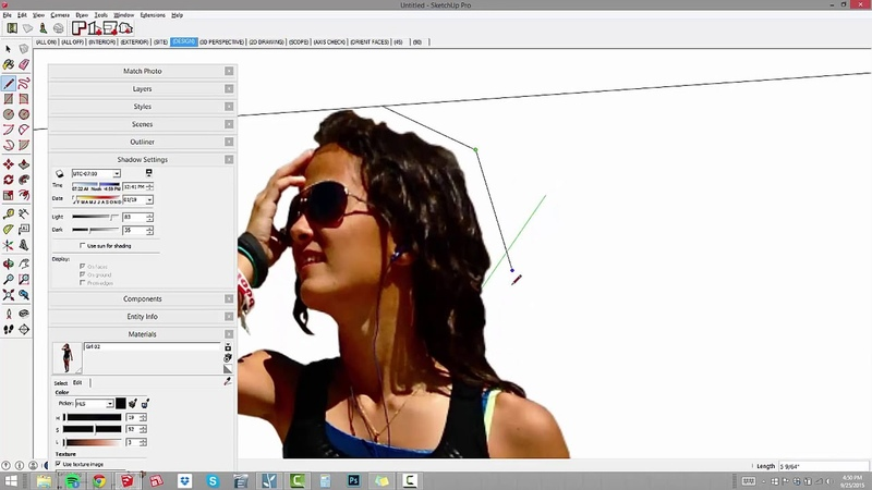 Expand Your Object Library: 02 - SketchUp Face Me Component