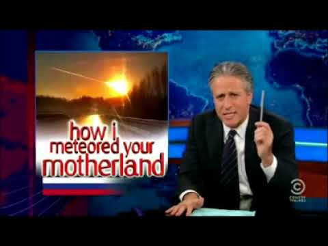 The Daily Show How I meteored your motherland
