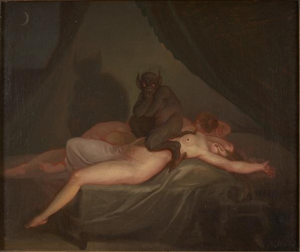 «Ночной кошмар» Генри Фюзели