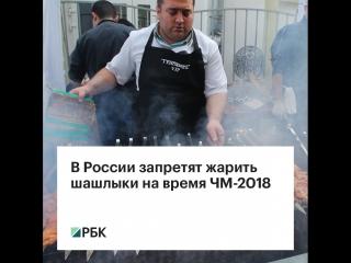 В России запретят жарить шашлыки на время ЧМ-2018