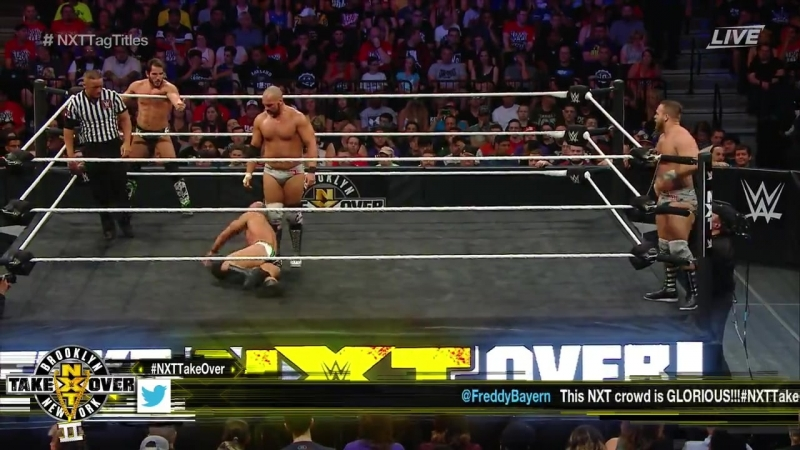 NXT TakeOver - Brooklyn II (2016) - The Revival vs DIY - NXT Tag Team Titles