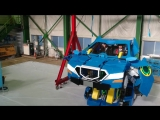 Робот-трансформер, который за минуту может превратиться в двухместный автомобиль
