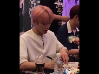 everyone watch taeyong getting scared by a toy it's critical