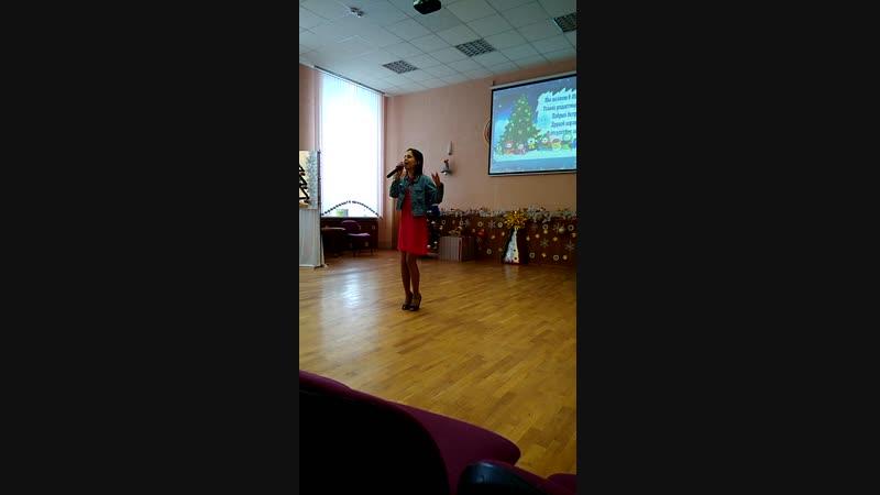 Выступление талантливой девочки 3 курса МГПТК торговли Лены Кочевой ❤✨