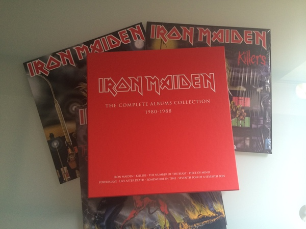 19 Iron Maiden Vinyl Box Set 2014 - Review, Unboxing, Impressions