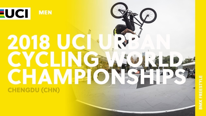 2018 UCI Urban Cycling World Championships - Chengdu (CHN) / Men BMX Park