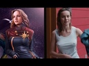 BRIE LARSON CAPTAIN MARVEL, BRIE LARSON HOT AND SEXY TRIBUTE