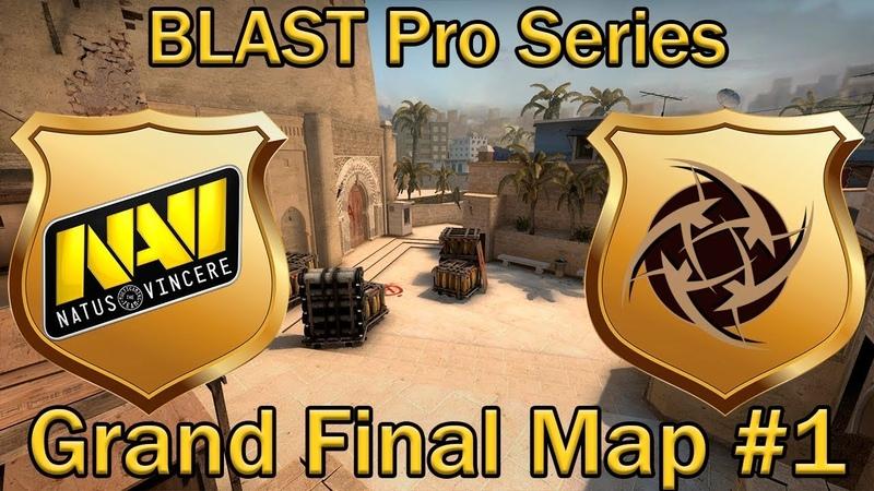 Очередной ФИНАЛ для НАВИ | NaVi vs NIP | Map 1 de_mirage bo3 [RU] | BLAST Pro Series