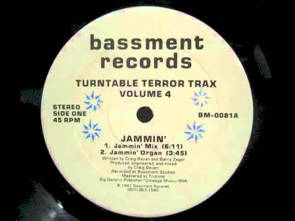 Turntable Terror Trax Volume 4 - Jammin' (Jammin' Organ)