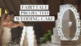 Fairytale Projection Wedding Cake Mapping by Luma Bakery