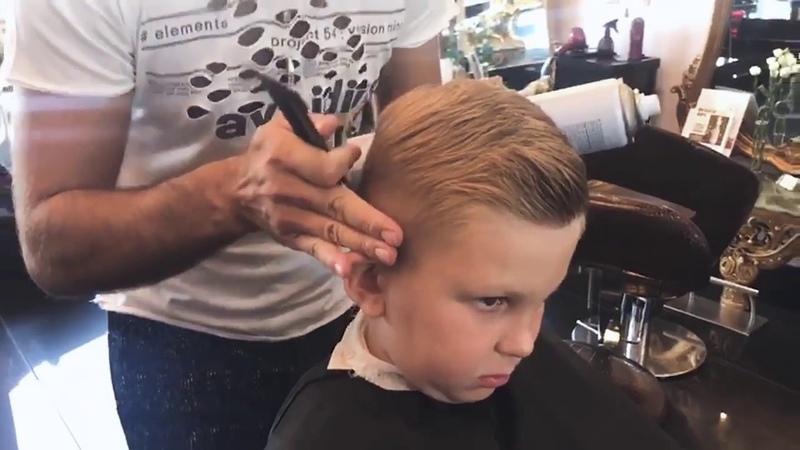СТРИЖЕТ ЕСАИ СИМИКЯН Стрижка для мальчикаВ салоне Красота