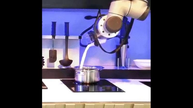 кухня робот
