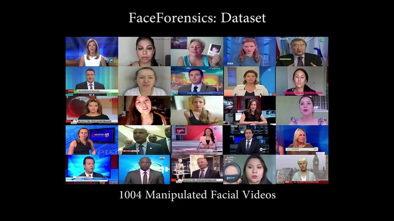 FaceForensics: A Large-scale Video Dataset for Forgery Detection in Human Faces faceforensics: a large-scale video dataset for f