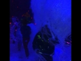 Бумажная дискотека в неоне и ультрафиолет