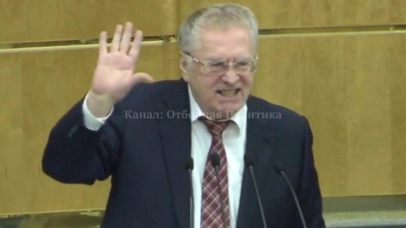 Жириновский Дума: Нам Ельцин с Горбачёвым Вернули Страну в 17-й Век!