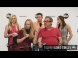 The Goldbergs Cast at San Diego Comic Con, 21st of July