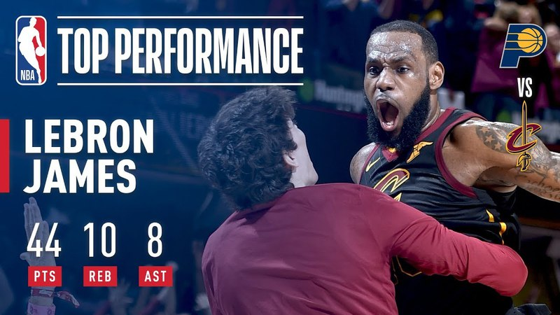LeBron James 44 Points A Game Winner!