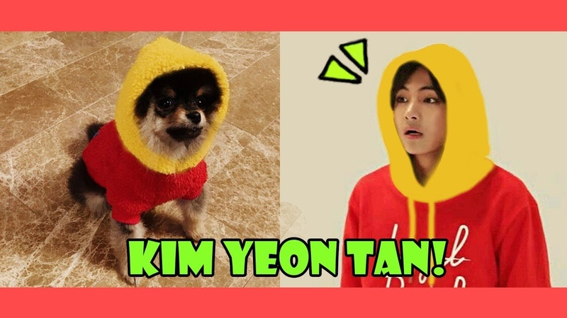 Taehyung Yeon Tan Cute Moments - Like Father, Like Son