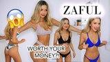 ZAFUL BIKINI TRY ON HAUL! I'M SHOCKED! LOVE OR HATE? | anniemadgett