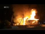 Друзья выбежали полуголые, одного спасти не удалось в коттедже на Юго-Западе сгорел молодой парень.