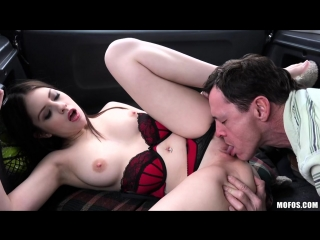 [mofos] hitchhiker gives blowjob in car rebecca volpetti