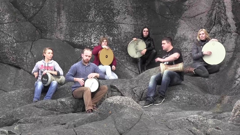 DrumTamTam - Foggy trip in Teriberka (drums, percussion, darbuka)