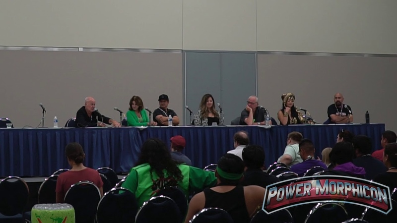 MMPR VILLAINS PANEL POWER MORPHICON 2018