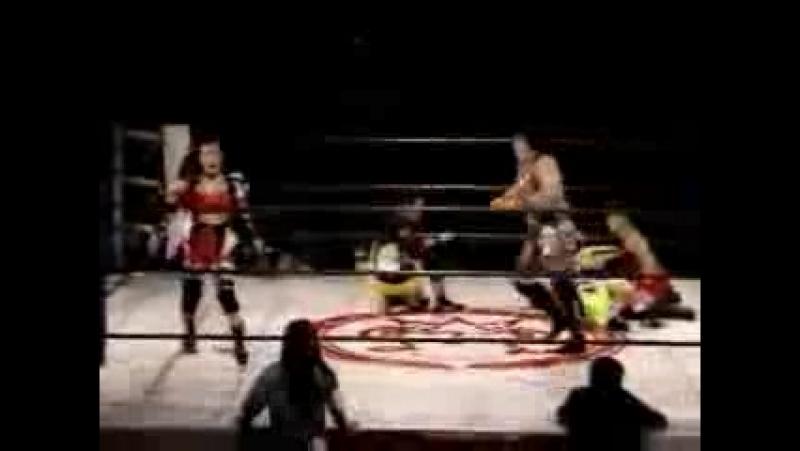 Chigusa Nagayo, Makie Numao vs. Maiko Matsumoto, Amami Kato