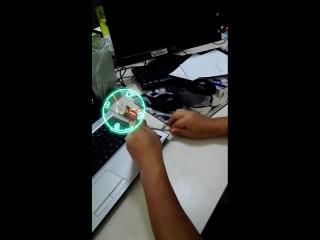 Часы-вентилятор от Usb