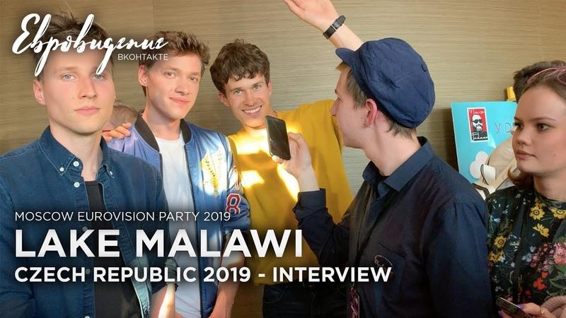 Lake Malawi (Czech Republic 2019) - Interview - Moscow Eurovision Party 2019