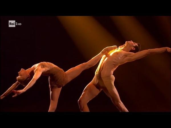 Caravaggio - excerpt from Roberto Bolle Danza con me (Dance with me), with Melissa Hamilton
