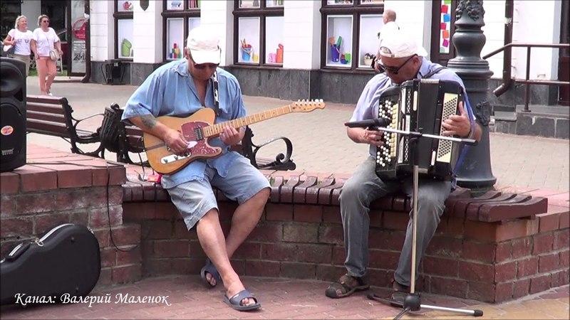 Мужики пришли на улицу и КЛАССНО cбацали БЕСАМО МУЧОС Street Music Buskers