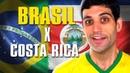 Brasil x Costa Rica passamos mal mas vencemos e o melhor MEME do Tite