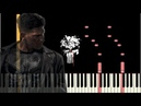 The Punisher - Main Theme Piano Tutorial Synthesia