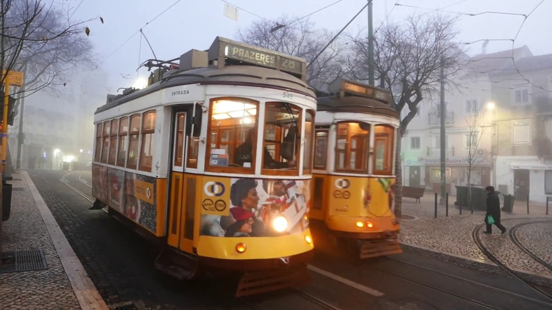 A Beautiful Homage to The Tram 28 In Lisbon