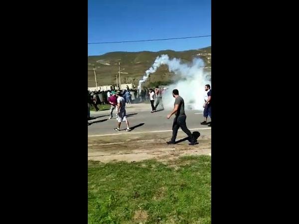 Кабардино-Балкария село Кёнделен разгорелся межнациональный конфликт с драками и пальбой