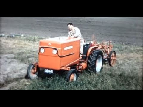 1960's Allis Chalmers Dealer Movie Fuel Cell Tractor