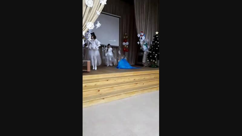 Снежная сказка театральное представление