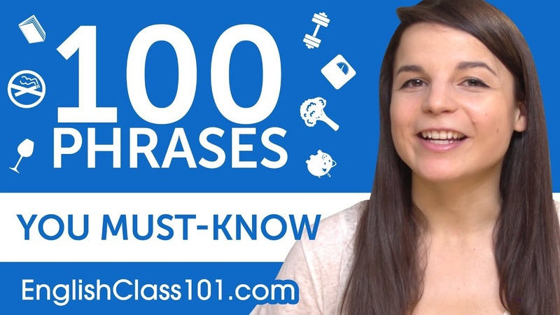 100 Phrases Every English Beginner Must-Know