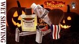 💈 Бритье Двумя Станками на Хэллоуин Muhle R41 + RazoRock 37 Slant + Sputnik Лезвие, Yaqi Brush
