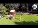 Сборка детской игровой площадки Версаль